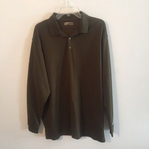 Nike Golf Fit Dry Long Sleeve Polo